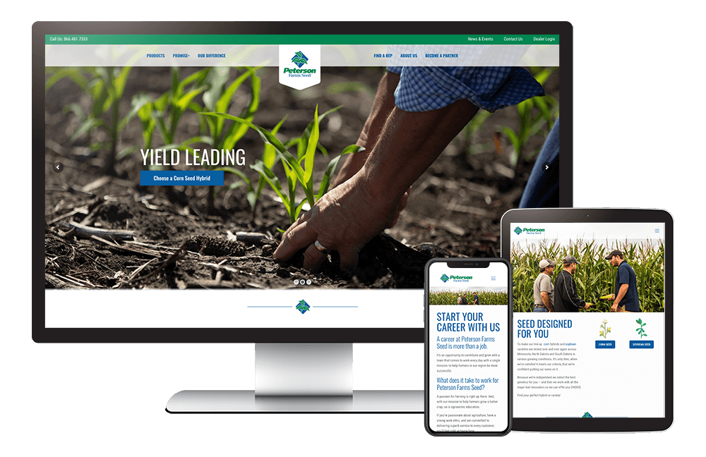 Peterson Farms Seed Case Study Feature Image